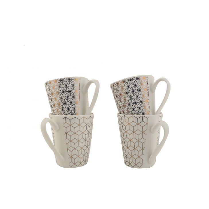 Mirage Set Of Four Mugs,Coffee Mugs
