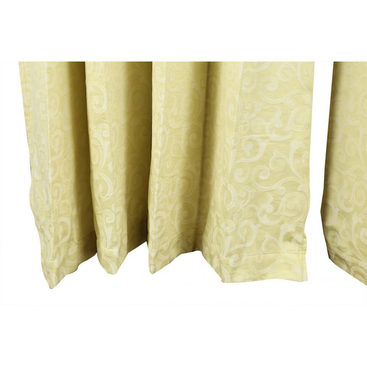 Florina Window Curtain Lime Ice,Curtains