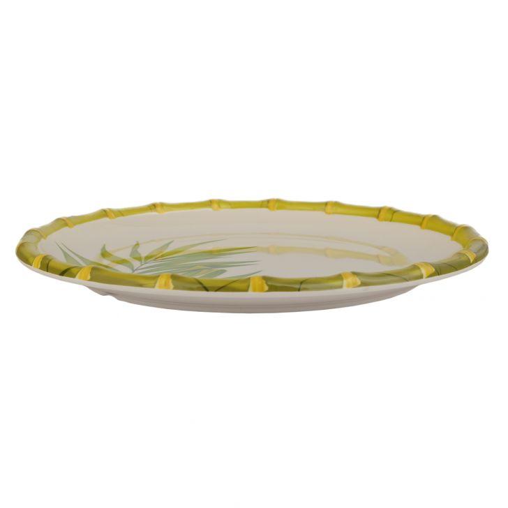 Bamboo Palm Leaf Buffet Plate,Plates