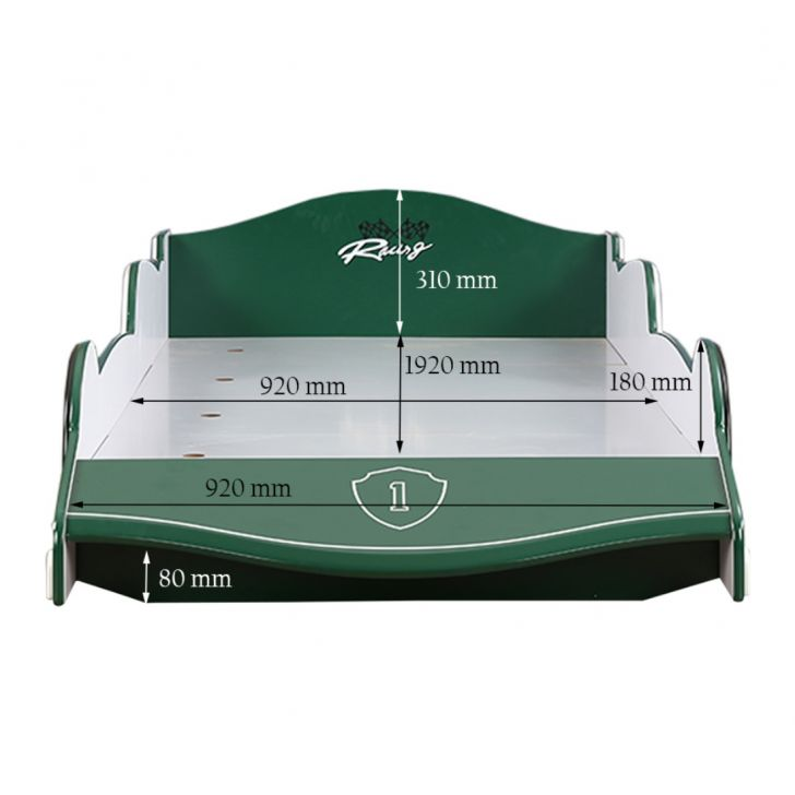 Cruz Car Bed Green,The Big Summer Sale