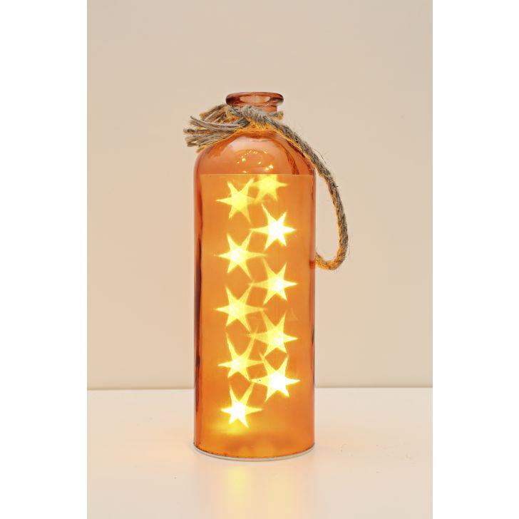 Venus Starlight Cylinder Bottle Orange,Lamps & Lighting