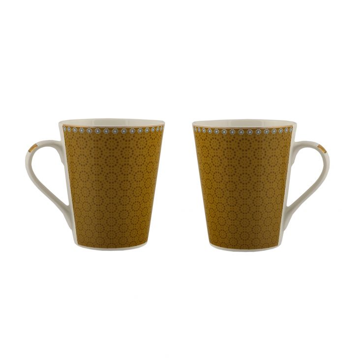 Sk Ajrak 2Pc Milk Mug,Mugs & Cups