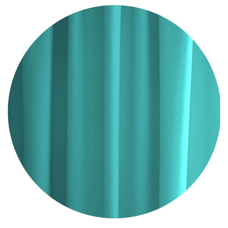 Tangerine Polyester Shower Curtain With Hooks Blue,Bath Linen