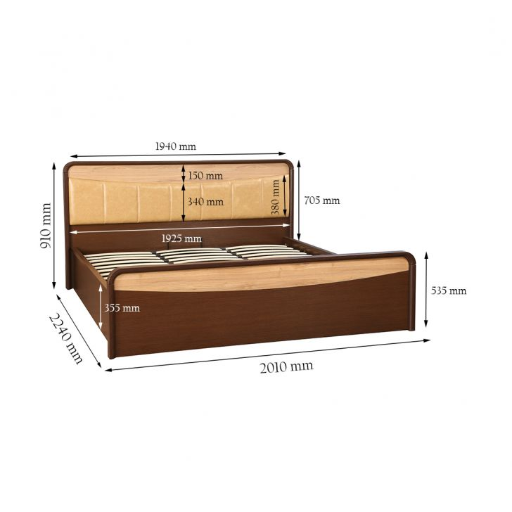 Bethovan King Bed With Full Hydraulic Storage,All Beds