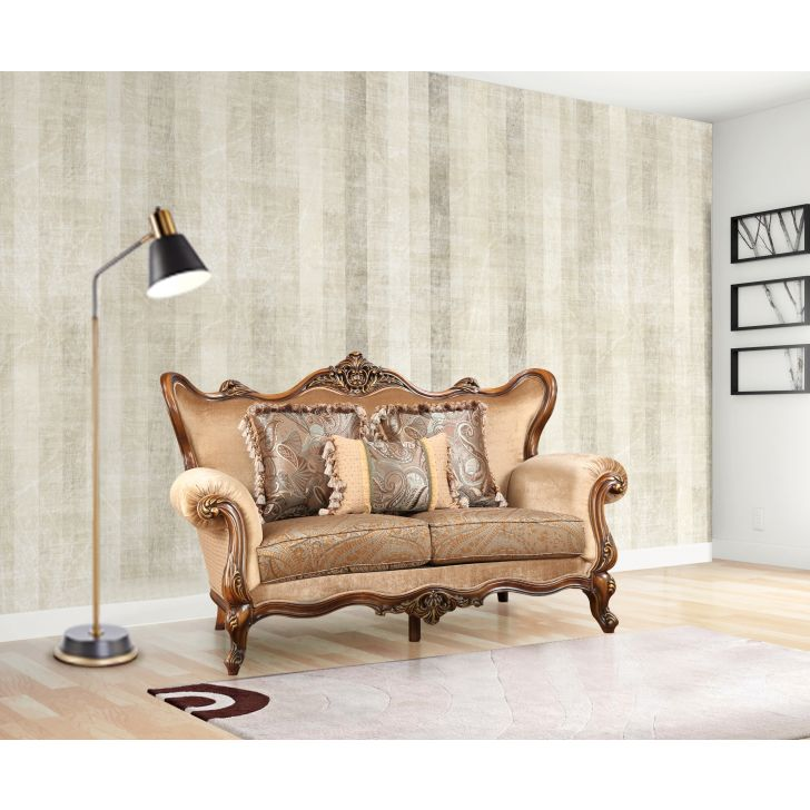 Constantine Solid Wood Two Seater Sofa,All Sofas