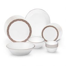 Corelle Livingware Sand Sketch Dinner Set 21 Pcs