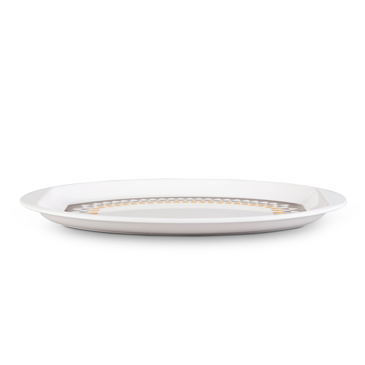 Living Essence Oval Serving Patter Urmi Country Side,Plates