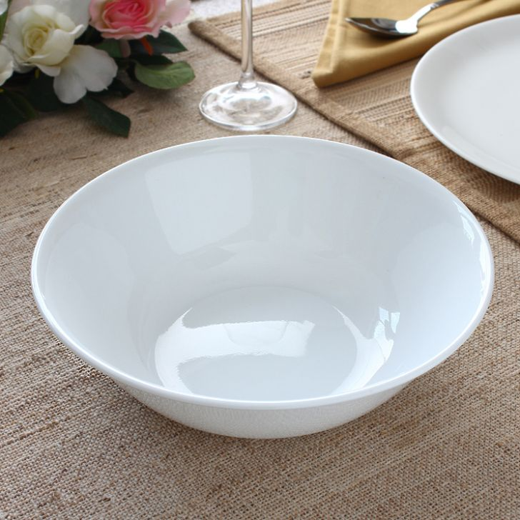 Corelle Winter Frost White 1 Ltr Round Serving Bowl,Bowls