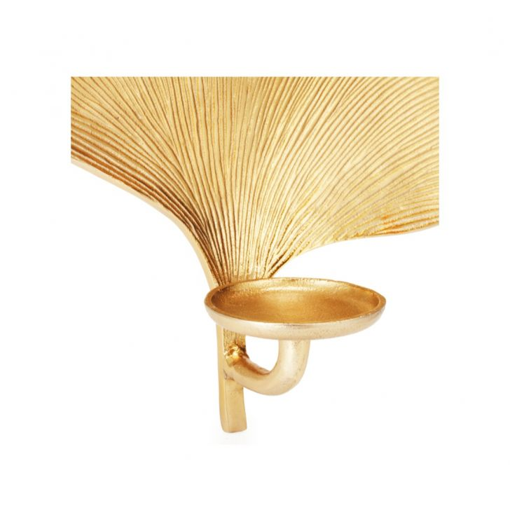 Aspen Ginko Wall Sconce Gold,Wall Sconces