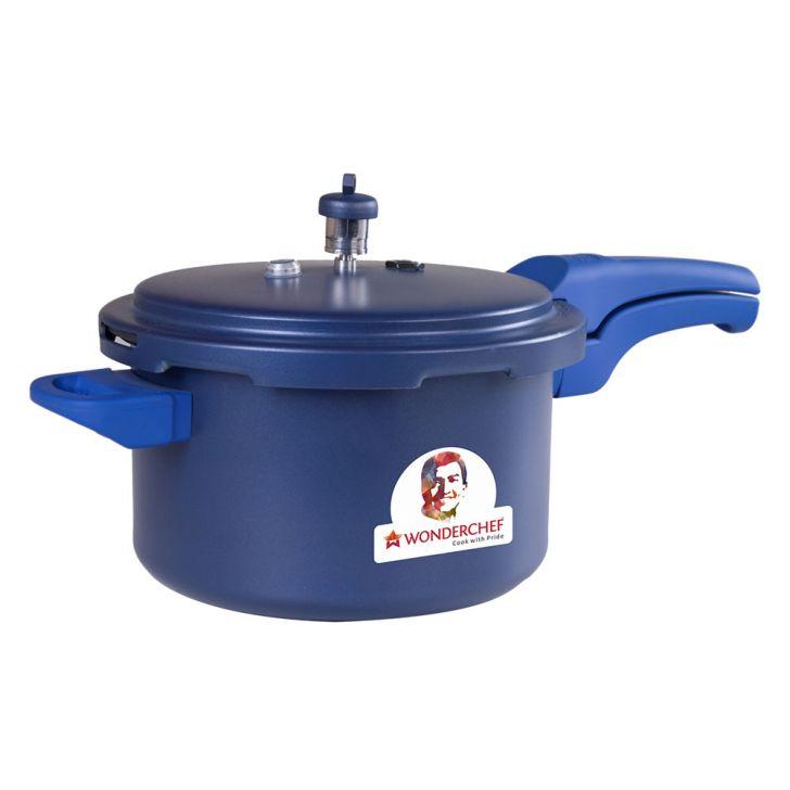 WC HEALTH GUARD PRESSURE COOKER3 LTRBLUE,Cooking Essentials