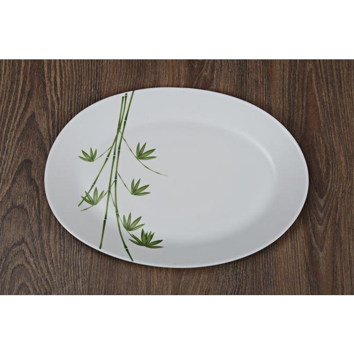 Diva Green Foliage Ivory Dinner Set Of 27 Pcs,Dinner Sets