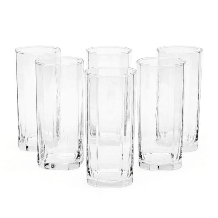Ocean Pyramid Tumbler 6 Pcs 380 ml,Glasses & Tumblers