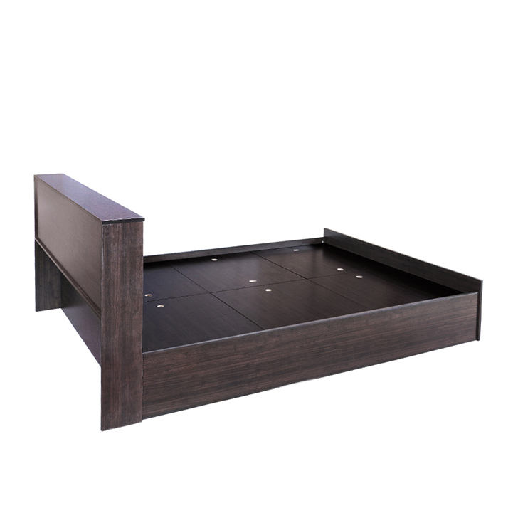 Buy Bolton King Bed In Engineered Wood With Box Storage