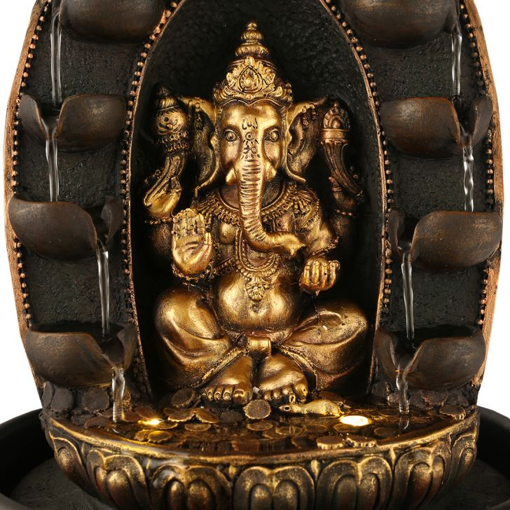 Impression Ganesha Fountain two-Sided,Indoor Fountains
