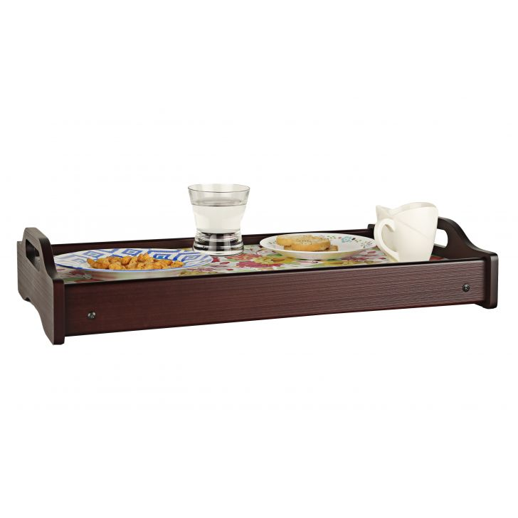 LE English Floral Break Fast Tray,Tableware