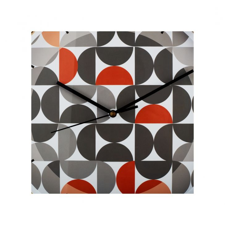 Aika Urbane Half Circle Clock,Wall Clocks