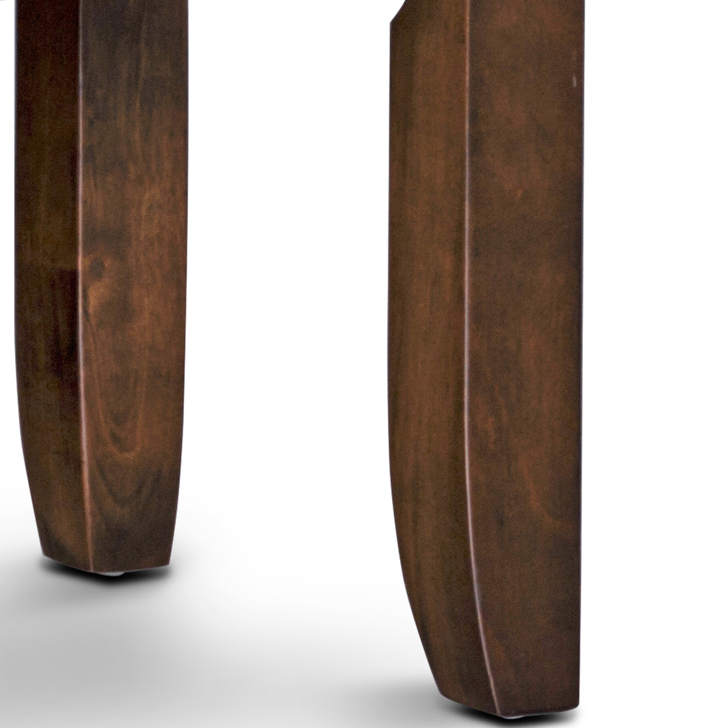 Lobito Bench in Walnut Finish,Dining Chairs