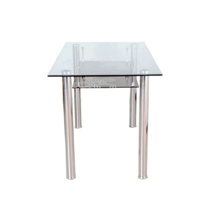 Vento Metal 4 Seater Dining Table,4 Seater Dining Table