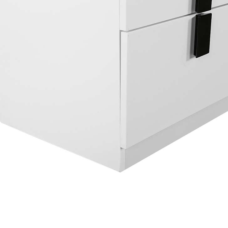 CAROL HIGH GLOSS BED SIDE TALL CABINET,Furniture