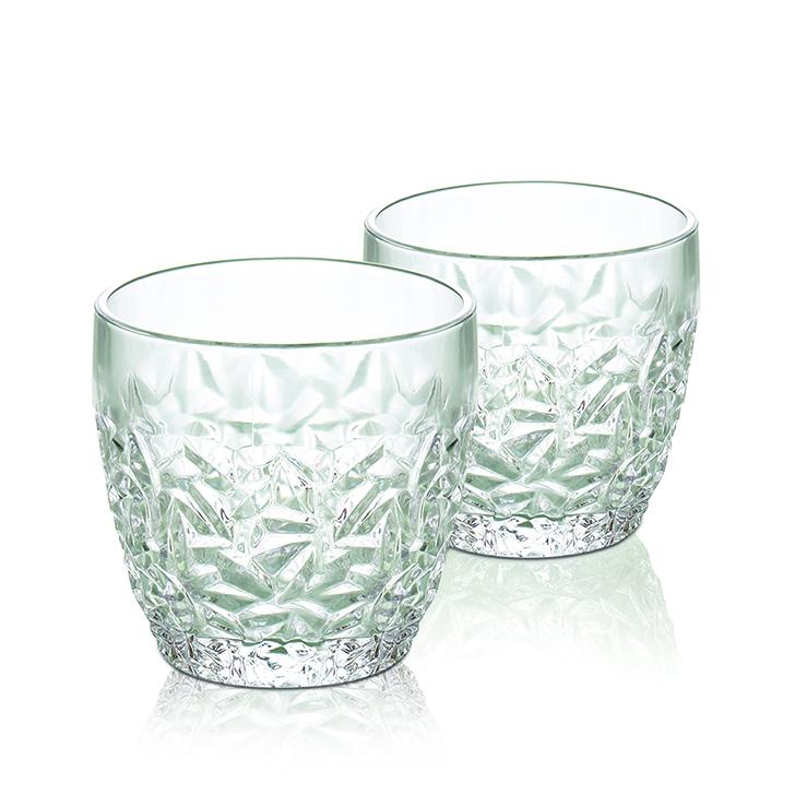 Living Essence Glacier Glass Whiskey Glass 4 Pcs,Serving Sets