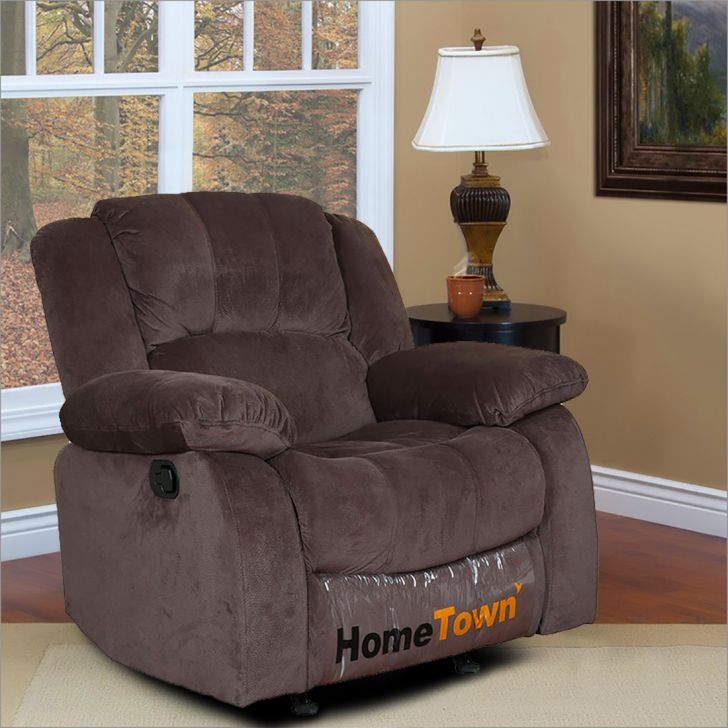 Rhea One Seater Manual Recliner with Rocker,Recliners