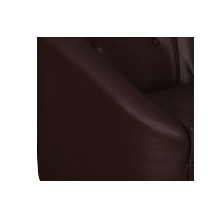 Belfast Leatherette One Seater Sofa Brown,The Big Summer Sale