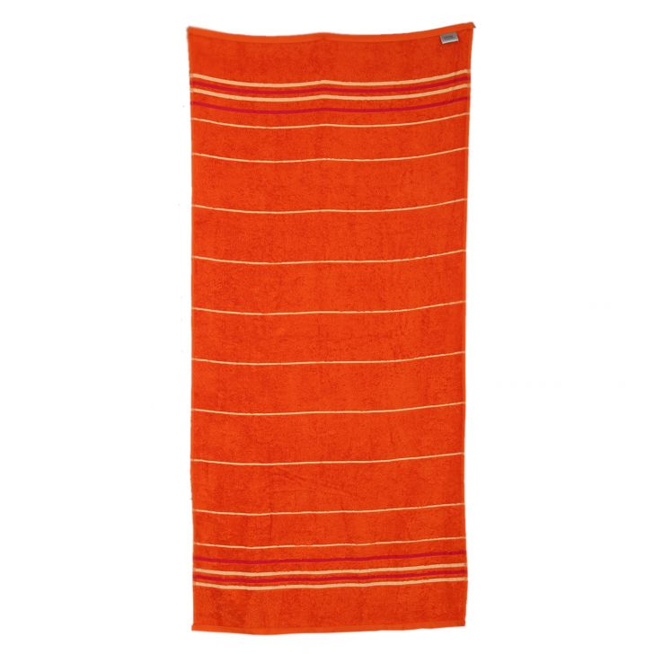 Emilia Bath Towel Butterscotch & Orange,Bath Towels