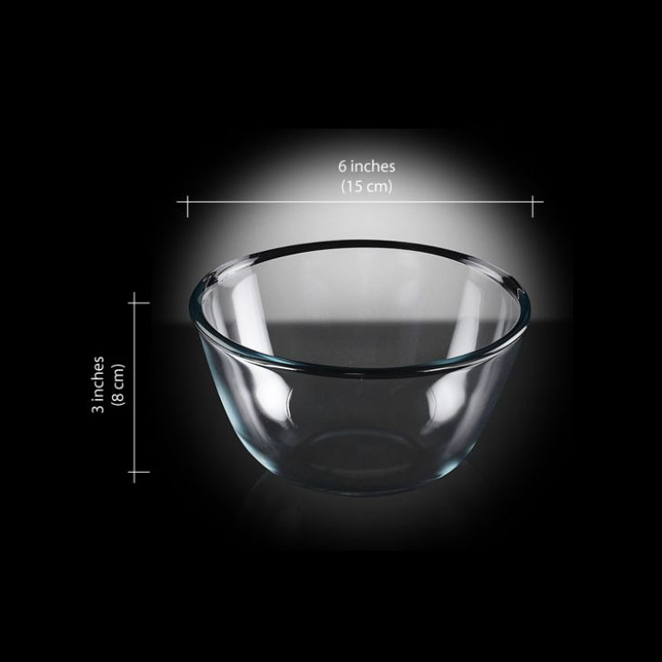 Borosil Mixing Bowl (500 ml),Muffin & Cupcake Bakeware