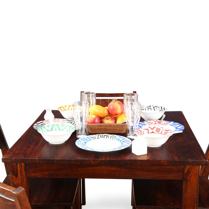 Trelis Four Seater Dining Set in Honey Color,HomeTown Best Sellers
