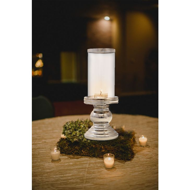 Sterling Round Base Candle Holder,Candle Holders