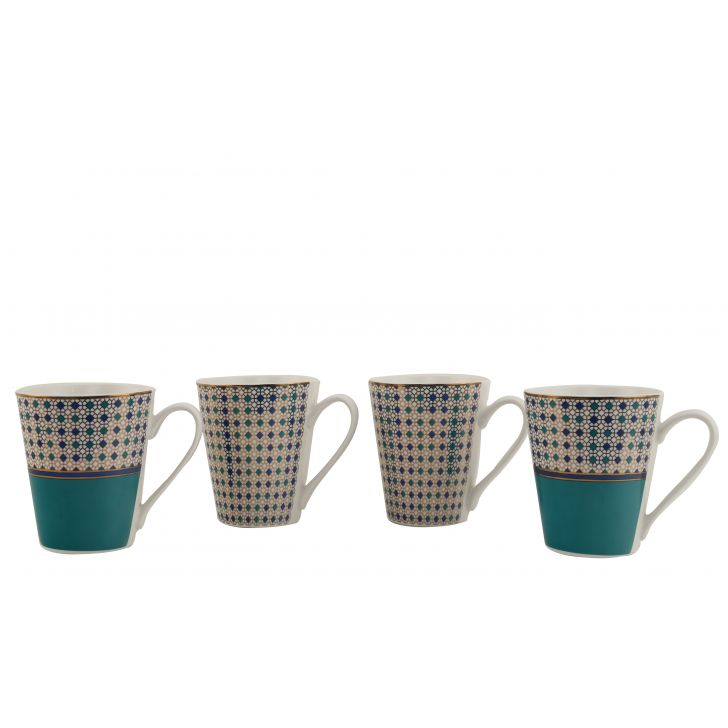 Panache Set Of Four Mugs,Coffee Mugs