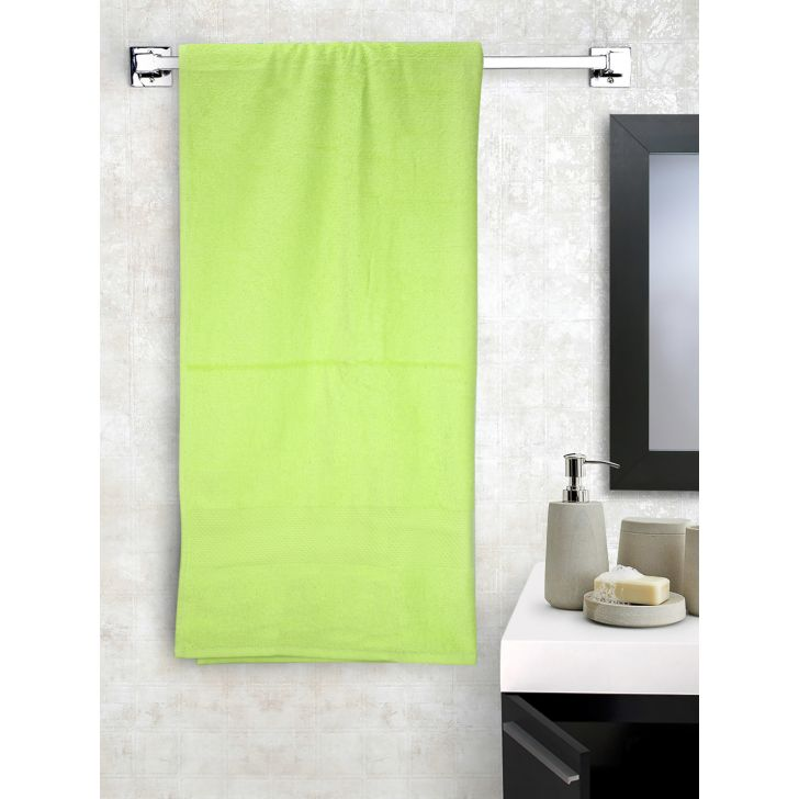 Terry Bath Towel 1 Piece Lime Green,Bath Towels