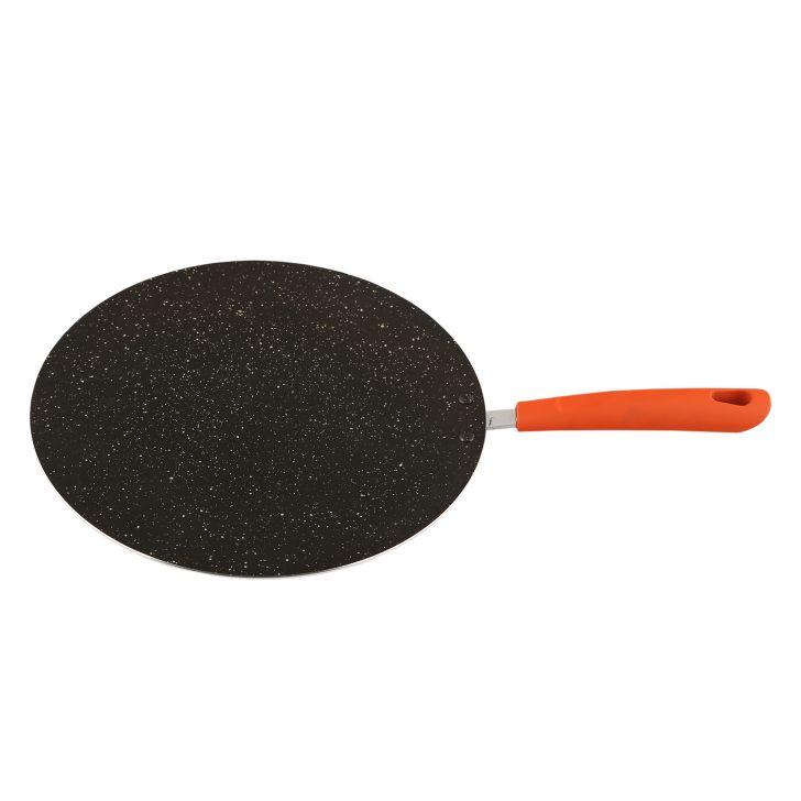 Granite Flat Tava 27Cm Orange,Kitchenware