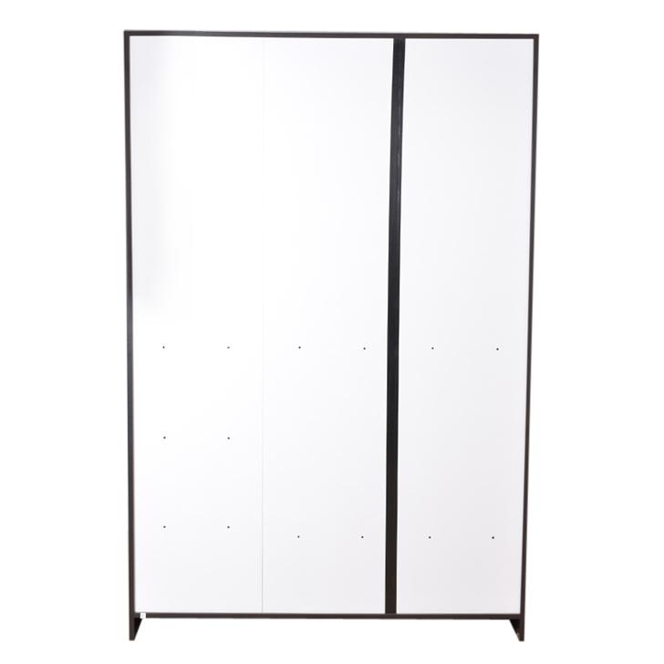 Utsav Three Door Wardrobe With Mirror Wenge,3 Door Wardrobes
