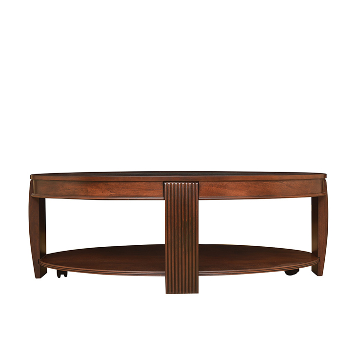 Marion Veener Center Table in Cherry Colour,Coffee Tables