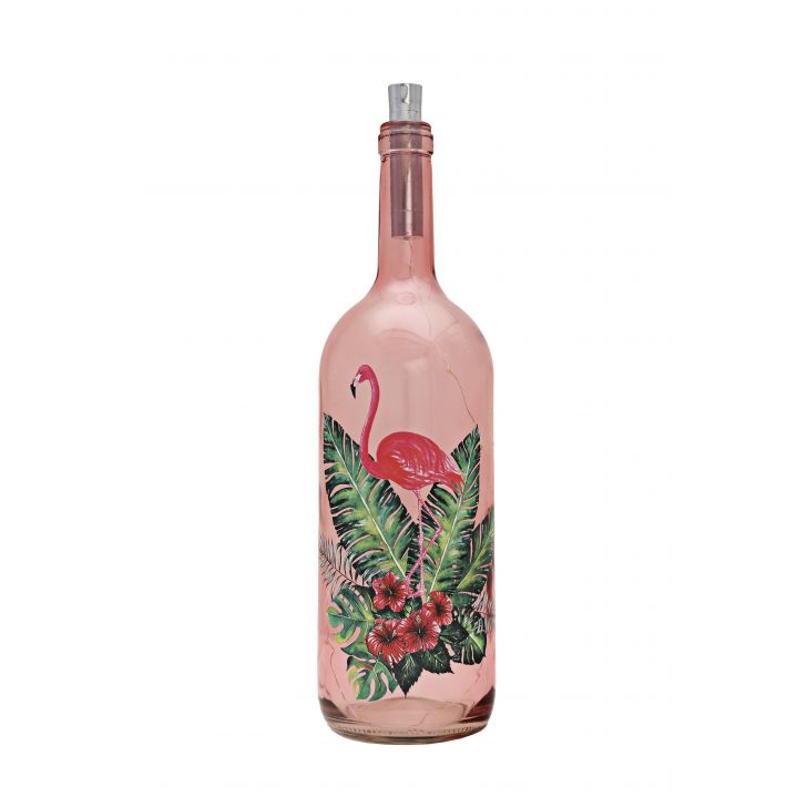 Venus Famingo Decal Bottle Red Tint,Lamps & Lighting