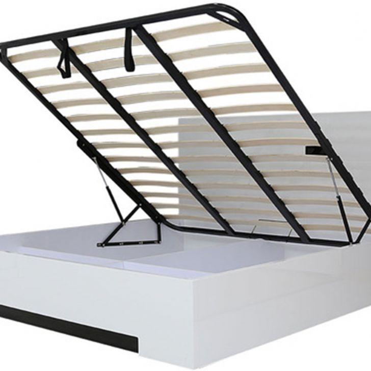 Edwina High Gloss Queen Bed,All Beds