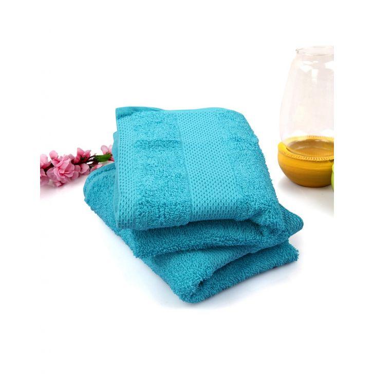 Terry Handtowel 2 Piece Blue,Hand Towels