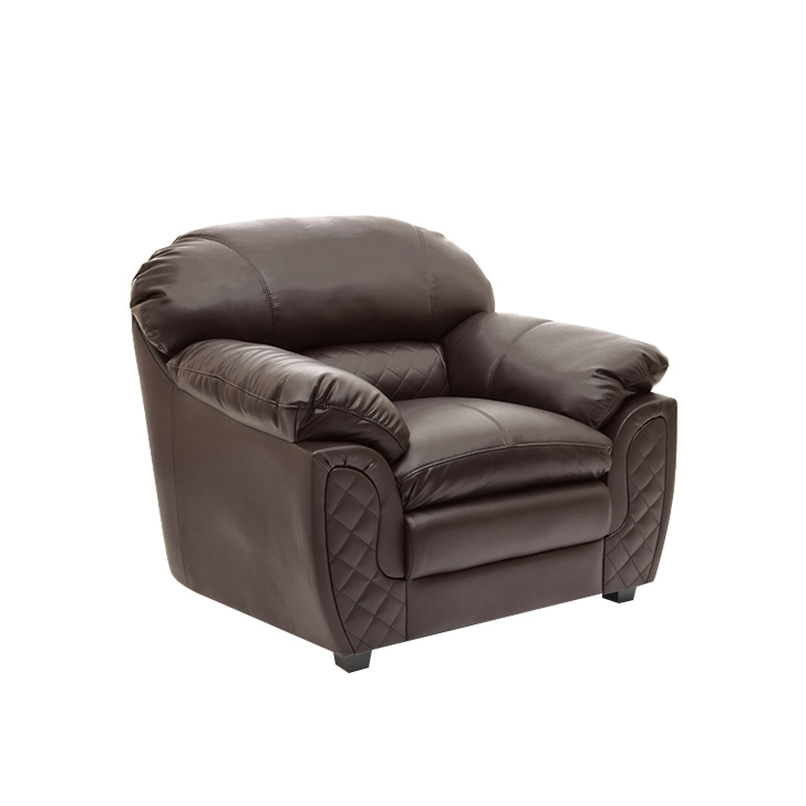 Mirage One Seater Sofa in Brown Colour,Clearance Sale