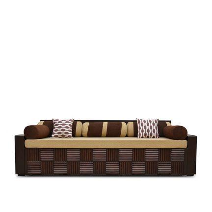 Buy Shine Sofa Bed Brown Online In India Ho340fu73dykindfur