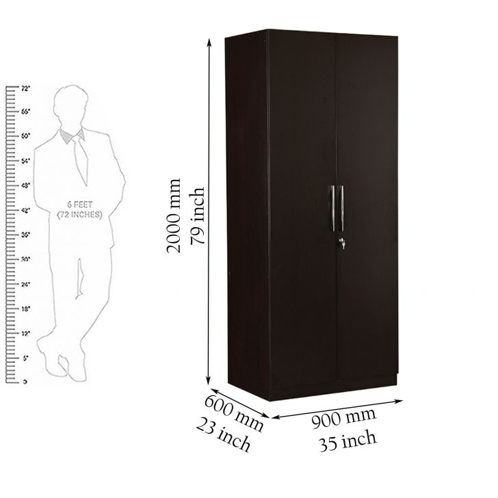 Mozart Two Door Wardrobe,Furniture