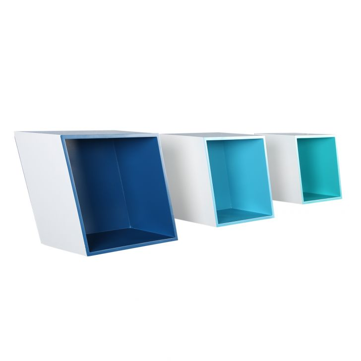 Coop Wall Shelve Blue,Bookshelves & Display Units