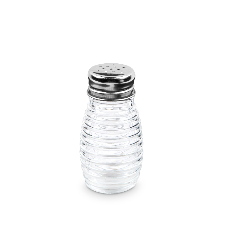 Living Essence ZES Salt And Pepper Shaker Clear 2 Pcs,Containers