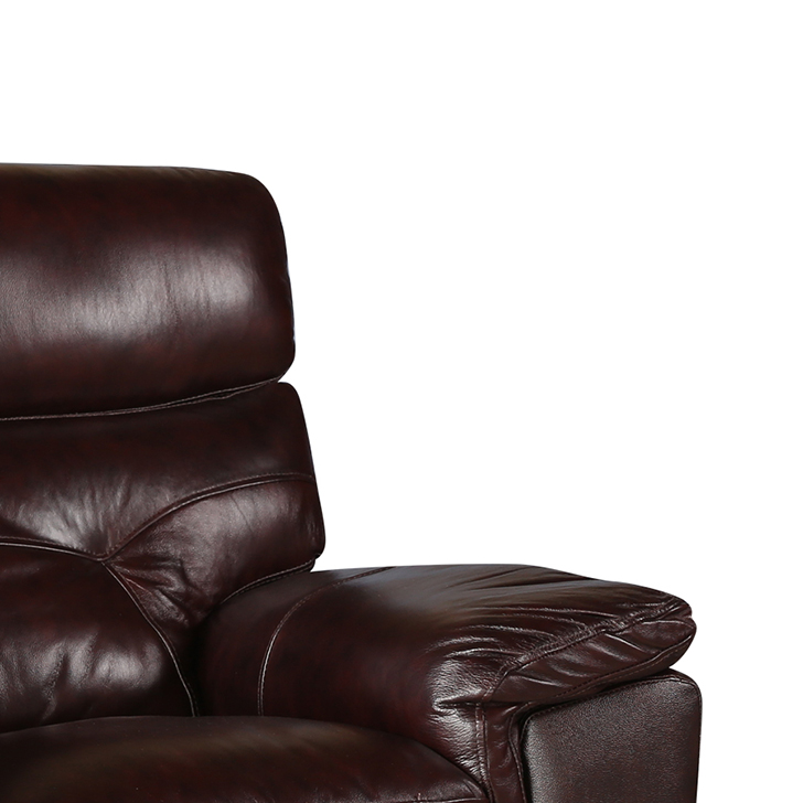 Bradley Half Leather SIngle Seater Sofa,Sofas & Sectionals