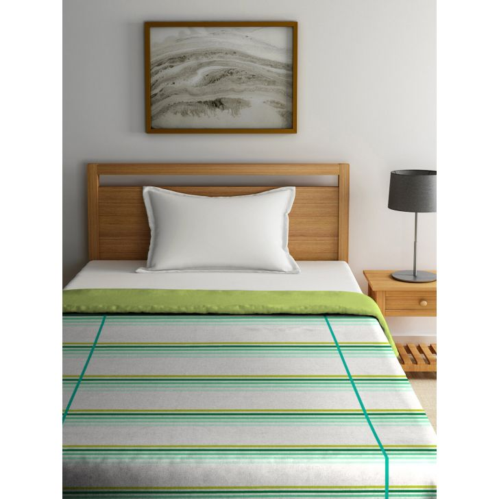 Single Dohar Slick Layus Sea Green,Dohars