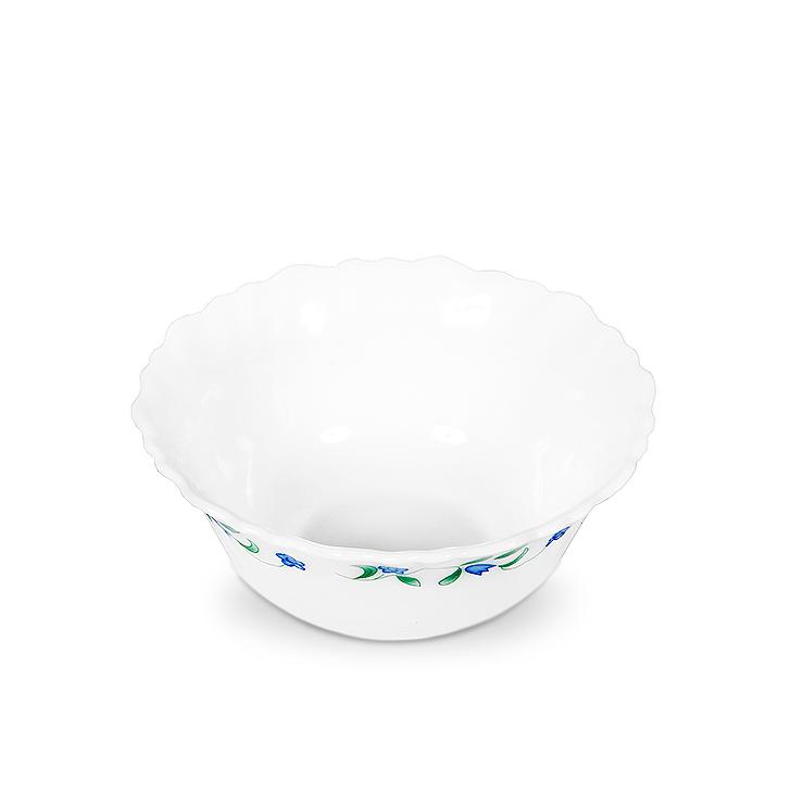 Diva Juniper Ceramic Veg Bowl White,Tableware