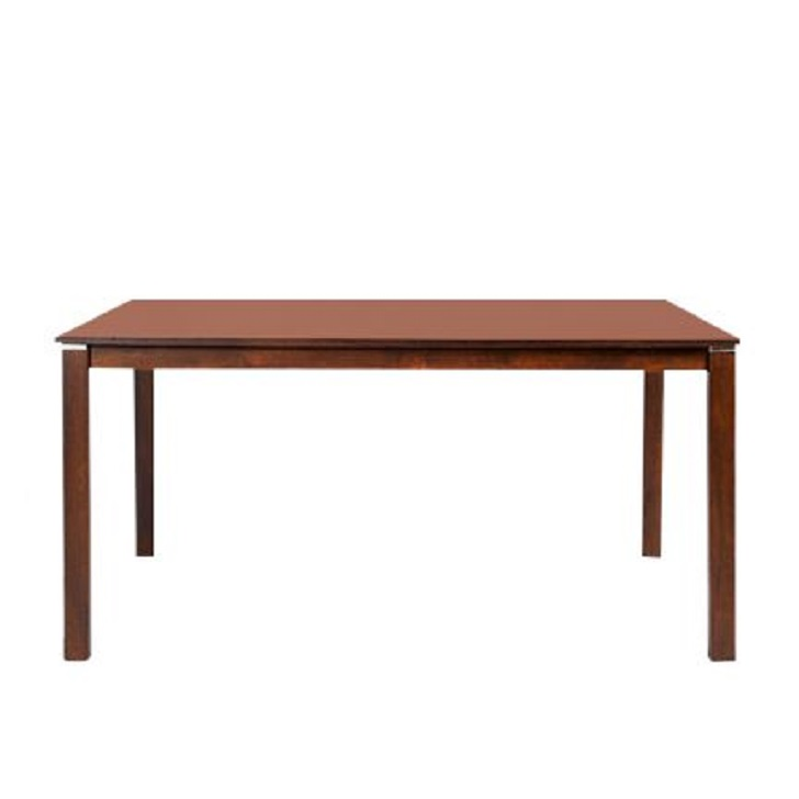 Beldon Six Seater Dining Table in Wenge Finish,6 Seater Dining Table