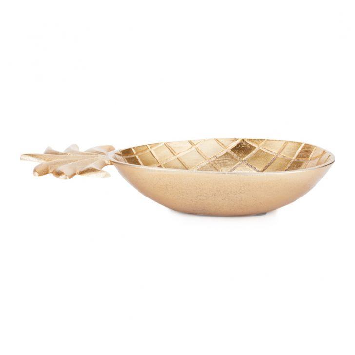 Aspen Pineapple Plater Large Gold,Handicrafts