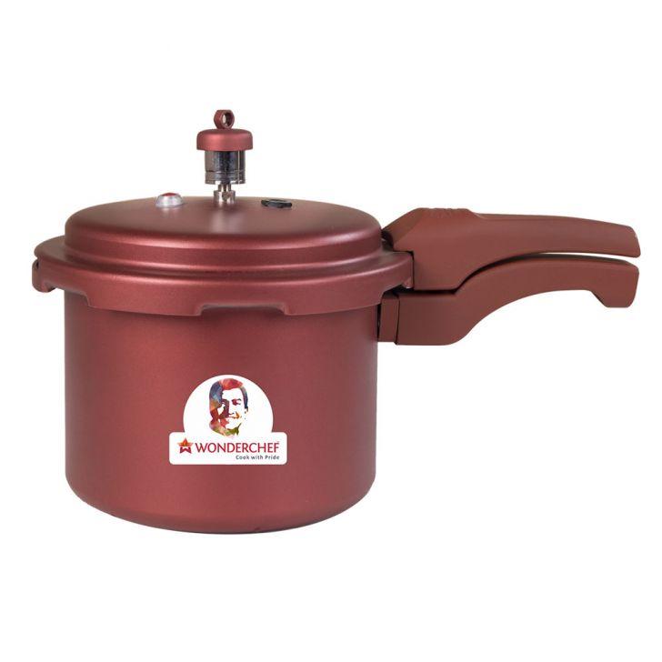 WC HEALTHGUARD PRESSURE COOKER3LTRMAROON,Cooking Essentials