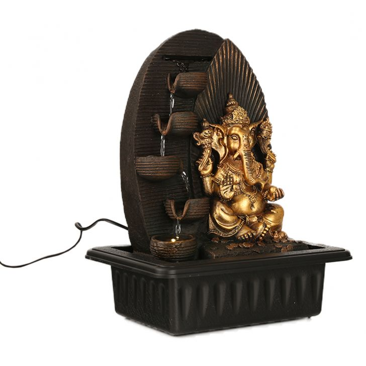 Impression Ganesh Ray Pot Fountain,Indoor Fountains